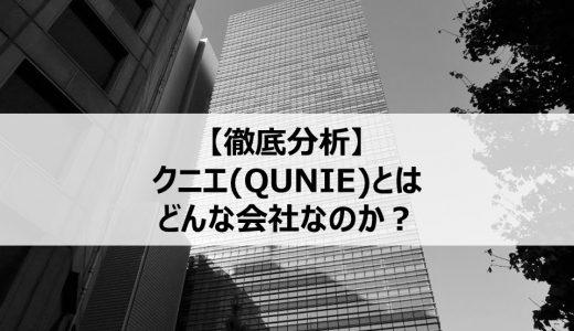 【企業分析】クニエ(QUNIE)とはどんな会社なのか?